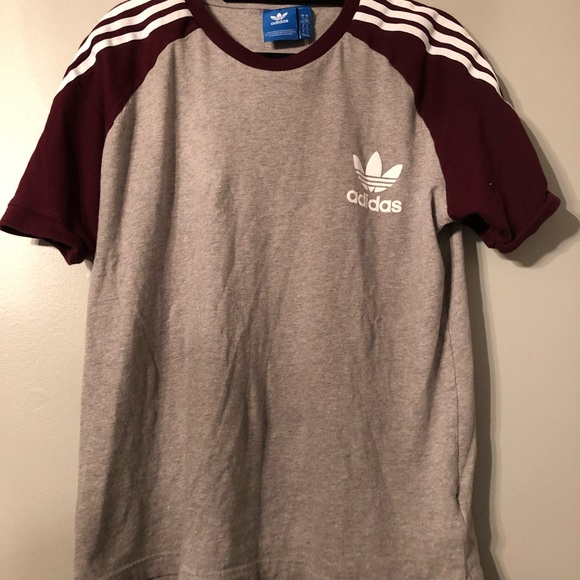 info for 152dd 23fe8 Authentic Adidas Maroon Rugby Shirt